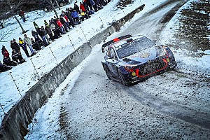 WRC Stage report Monte Carlo WRC: Neuville takes unofficial overnight lead