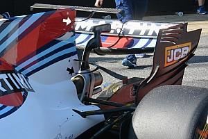 Williams тестує Т-крило власної конструкції