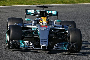 Barcelona F1 test: Hamilton and Mercedes top opening day