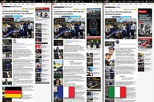 Общая информация Новости Motorsport.com Motorsport.com открывает новое швейцарское издание на трех языках