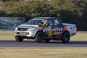 Supercars Breaking news First SuperUte completes shakedown