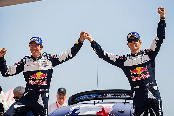 WRC Breaking news M-Sport: Ogier now