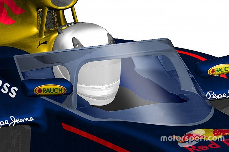 Red Bull reveals proposed new F1 canopy design & Bull reveals proposed new F1 canopy design