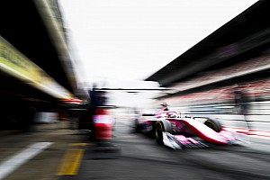 Las mejores imágenes de los test de la F2 2019 en Barcelona