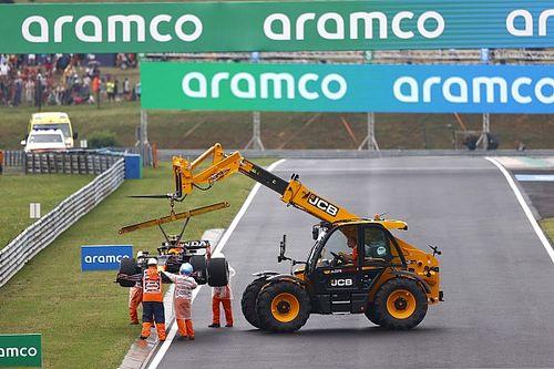 F1- Leclerc chama incidentes da curva 1 de 'jogo de boliche'