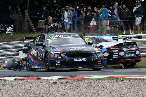Plato absolved of blame for BTCC Oulton Park race one Oliphant crash