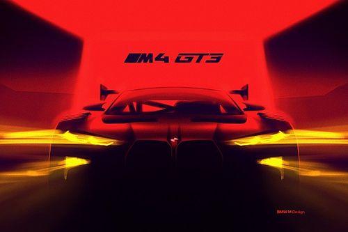 BMW, tamamen yeni M4 GT3'ün fotoğrafını yayınladı