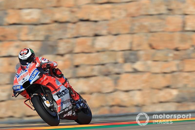 EL4 - Lorenzo aux commandes, Márquez à terre, Rossi distancé