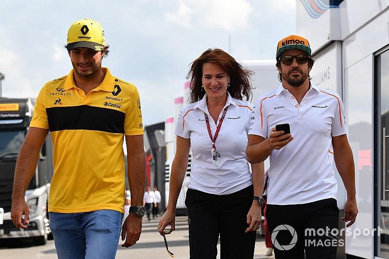 Silvia Hoffer deja McLaren F1 y sustituye a Antonini en Ferrari