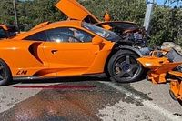 Ex-F1, Adrian Sutil destrói McLaren de edição limitada em Mônaco