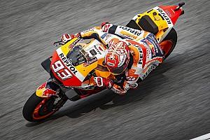 FP1 MotoGP Valencia: Trek basah, Marquez puncaki sesi