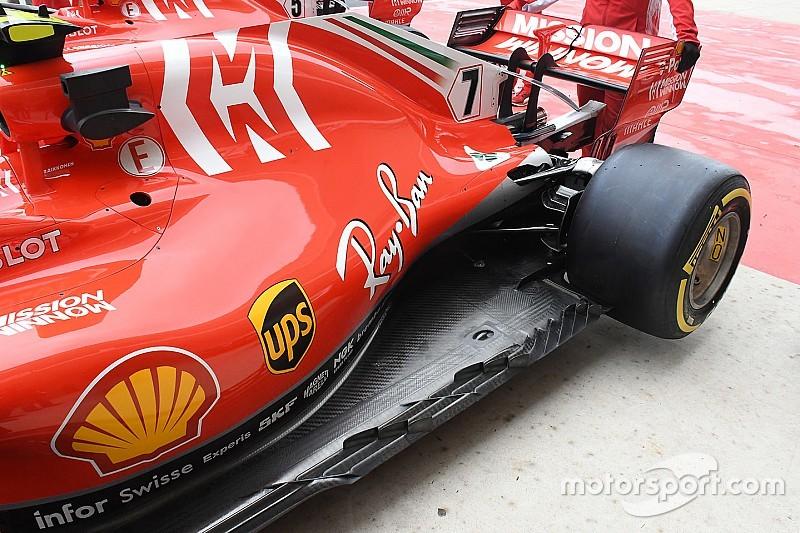 Ferrari tiene una importante actualización en el piso para Austin