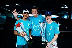 Mercedes: Hamilton nem volt boldog az ötödik címe megszerzése után