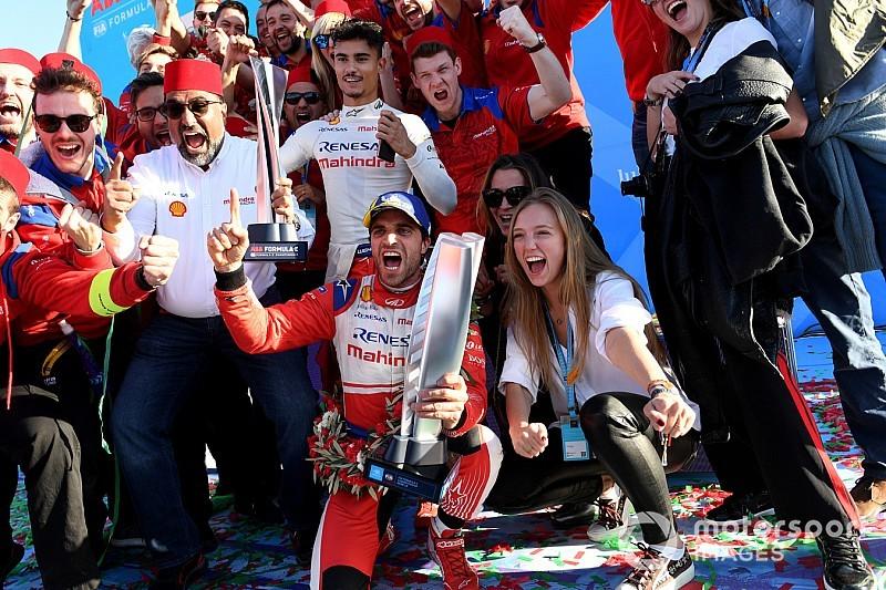 Gallery: Mahindra celebrates Marrakesh Formula E win