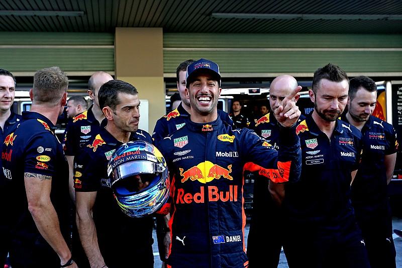 Ricciardo: Nagyon figyeltem arra, hogy ne mondjak hülyeségeket