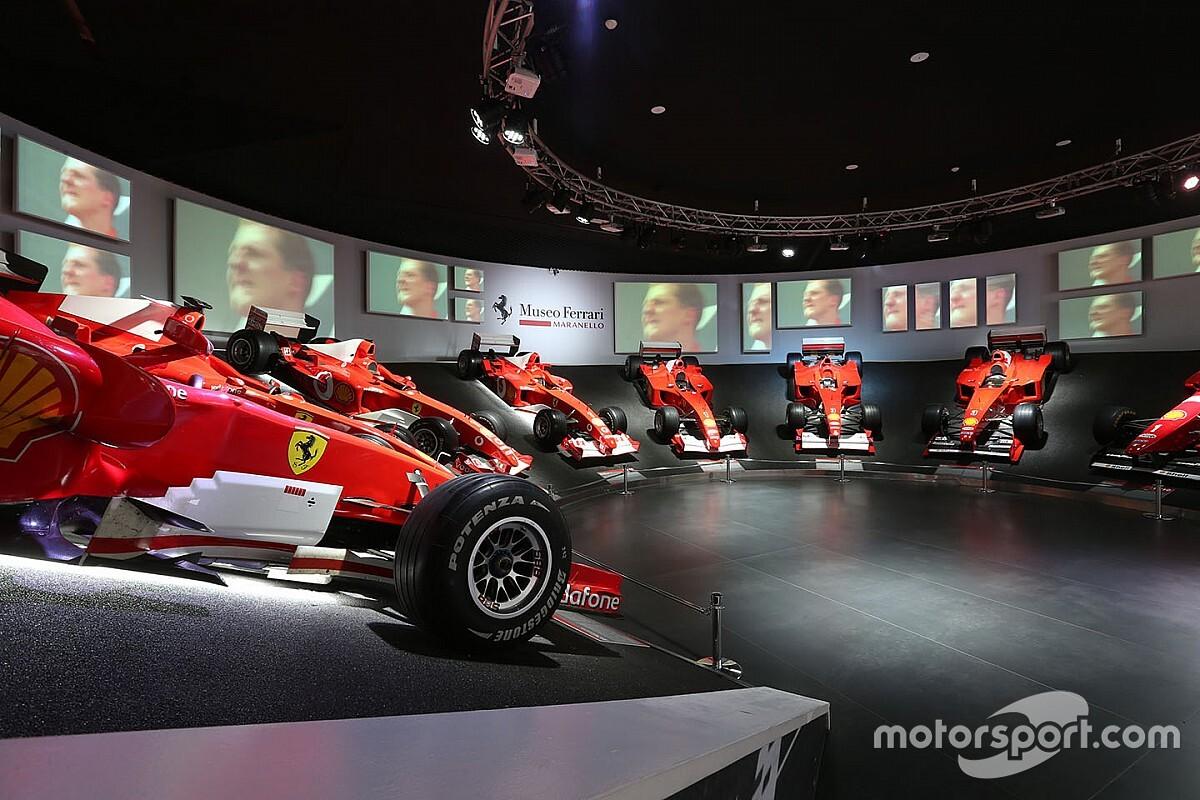 Photos - L'exposition Schumacher au Musée Ferrari de Maranello