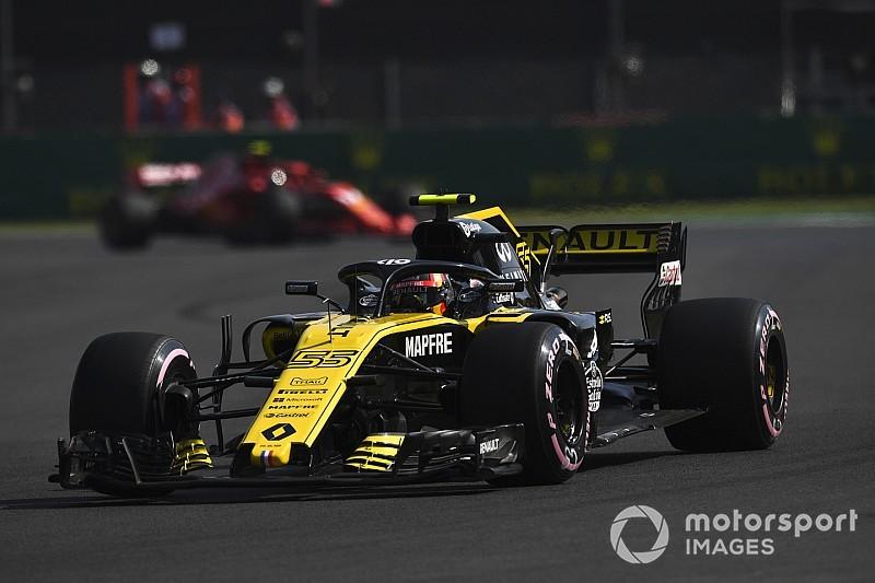 Sainz: Renault'nun Mercedes ve Ferrari'nin önünde olması aldatıcı