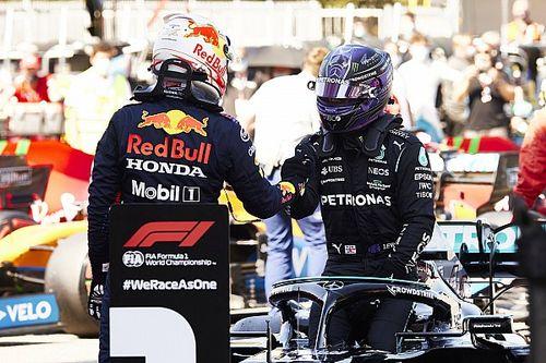 F1-update: Verstappen kan leven met P2, Hamilton schrijft historie