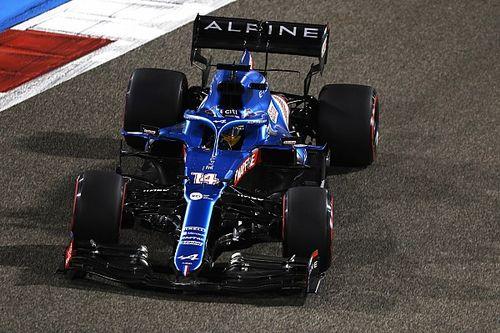 غلاف شطيرة كان السبب وراء انسحاب ألونسو من سباق البحرين