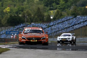 DTM Qualifying report Hungaroring DTM: Auer on pole as Mercedes dominates