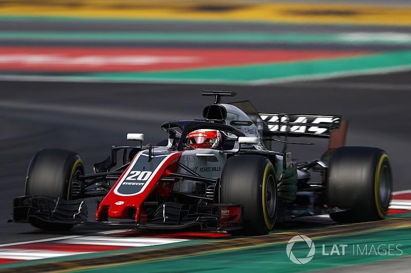 Haas lässt aufhorchen: Grosjean bremst gut, Magnussen gibt Gas