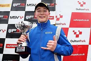 BF3 Breaking news Monger scores British F3 podium on racing return