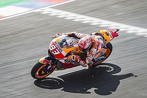 MotoGP Antrenman raporu MotoGP Arjantin: Marquez ilk sırada, Dovizioso sonuncu