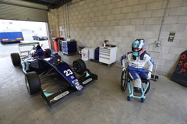 BF3 Noticias Monger realiza una prueba de un F3 con el equipo Carlin