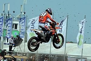Mondiale Cross Mx2 Gara Prado la spunta su Jonass con lo stesso punteggio in Germania