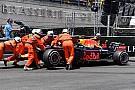 Formule 1 Crash en tweede tijd Verstappen in derde training, Ricciardo nipt snelste