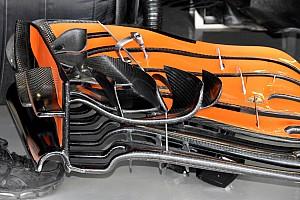 Формула 1 Спеціальна можливість Відео: останні оновлення переднього антикрила боліда McLaren
