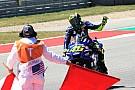 MotoGP Valentino Rossi se va positivo de Austin