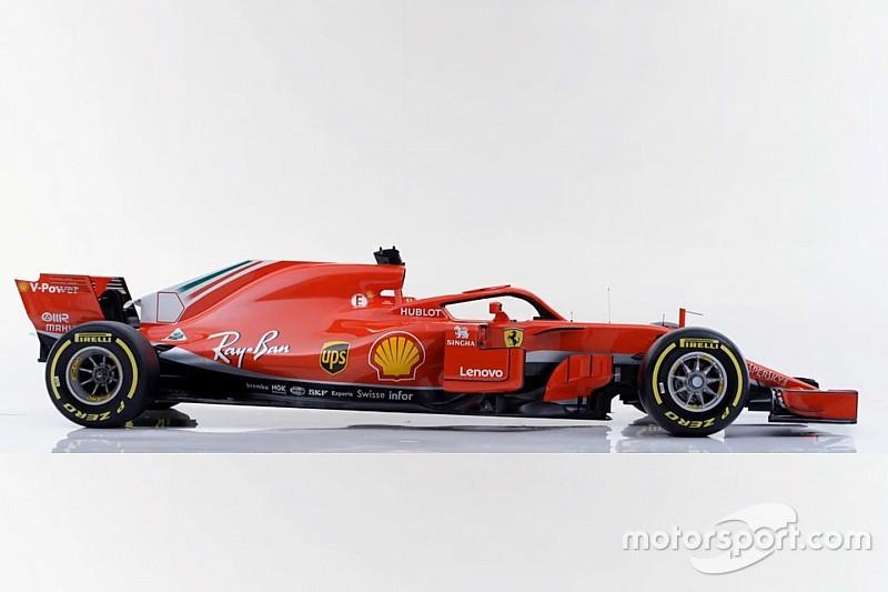GALERI: Mobil F1 2018 Ferrari SF71H