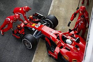 Fórmula 1 Noticias Vettel destaca la fiabilidad pero pide más ritmo al Ferrari