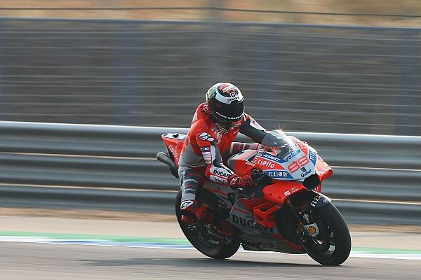 MotoGP 速報ニュース ロレンソ、好調だったセパンテストから一転……バイク快適に感じられず
