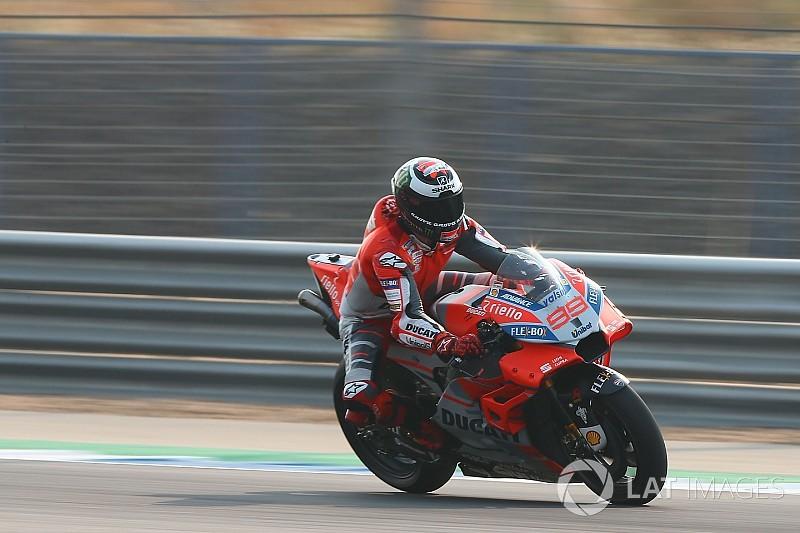 Лоренсо «досі не освоївся» з новим мотоциклом Ducati