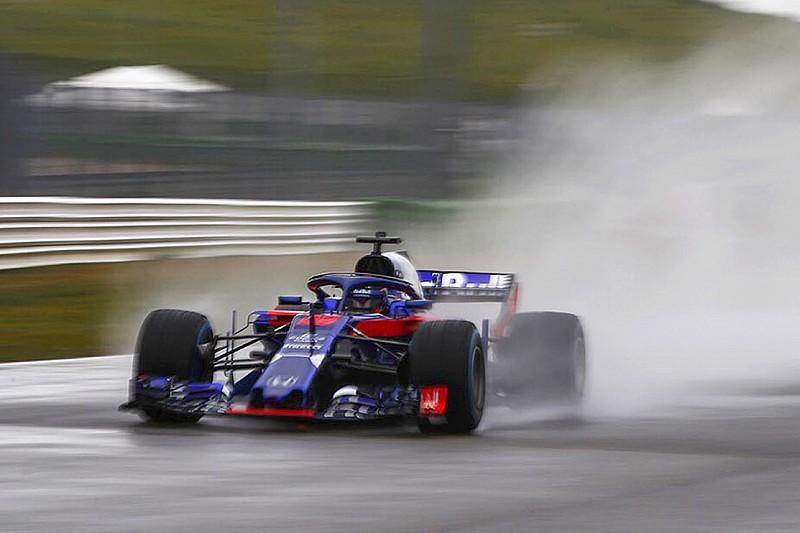 Foto pertama mobil F1 2018 Toro Rosso