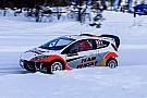 "World Rallycross Newgarden on ice racing: ""It's almost like I've never raced before!"""