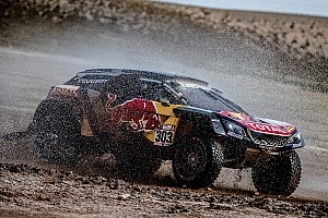Dakar leader Sainz penalised for quad run-in