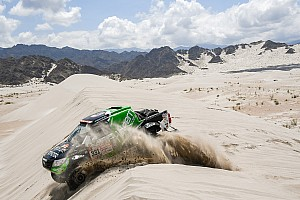 Sebastián Halpern logra el noveno sitio del Dakar,
