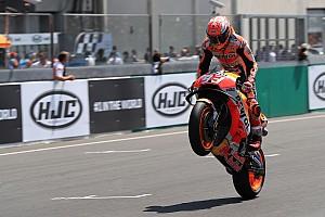 MotoGP Motorsport.com hírek Képekben a MotoGP Francia Nagydíja: Marquez megint nyert