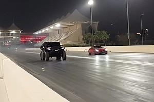 Auto Actualités Vidéo - Le Devel Sixty écrase une Mercedes AMG-GT!