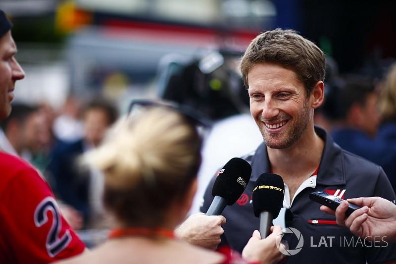 """Grosjean : """"On en fait toute une montagne..."""""""
