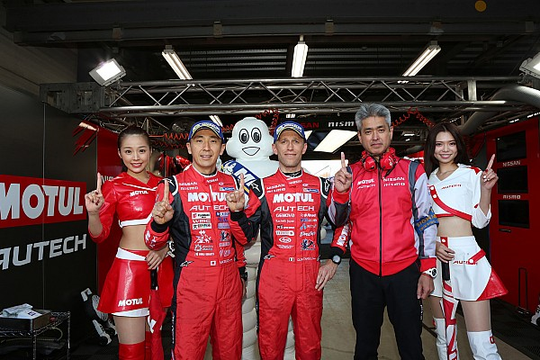 Super GT Qualifying report Nissan raih pole Super GT Motegi