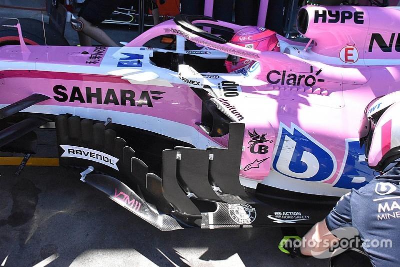 Force India: quante novità aerodinamiche sulla VJM11 (e non solo)