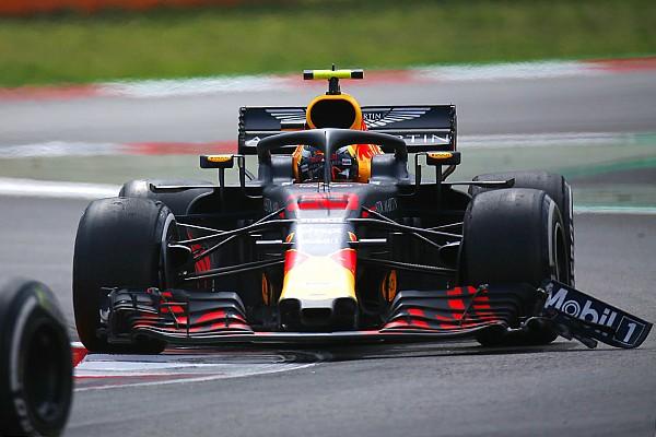 Скорость машины с поломанным крылом удивила Ферстаппена