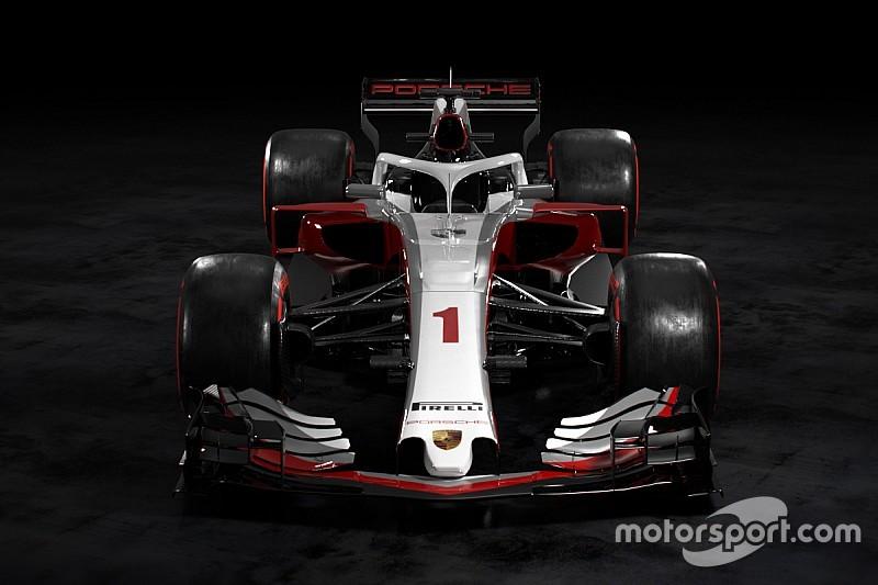 Hoe Ziet Een Porsche F1 Auto Eruit