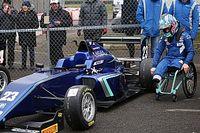 Видео: первая гонка Билли Монгера после аварии