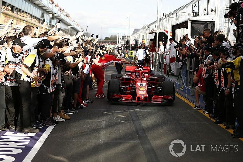 Vettel sonríe ante Hamilton; Alonso cierra el top 5 en Australia