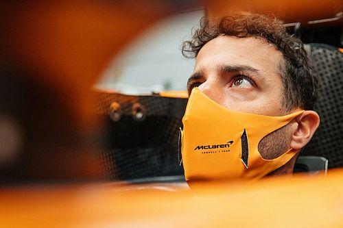 "Ricciardo at ""the limit"" for McLaren F1 cockpit"